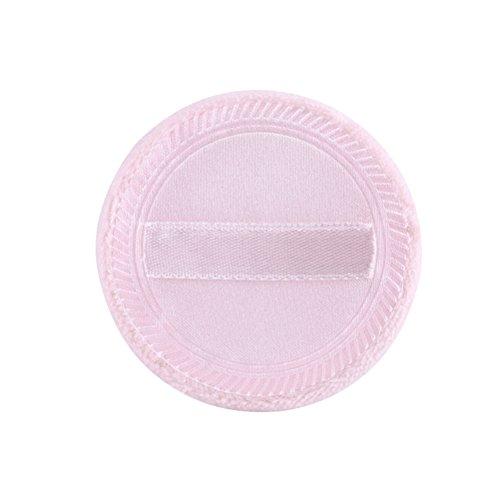 FRCOLOR 10 Pcs Poudre Cosmétique Puff Fond de Teint Poudre de Coton Fondant pour Visage