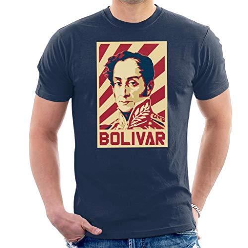 Cloud City 7 Simon Bolivar Venezuela Retro Propaganda Men's T-Shirt