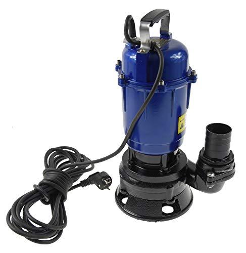 Fäkalienpumpe Tauchpumpe Schmutzwasserpumpe Magnum 550W 18000l/h ohne Schwimmer