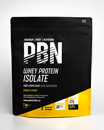 Premium Body Nutrition - weiproteïne-isolaat poeder 1 kg