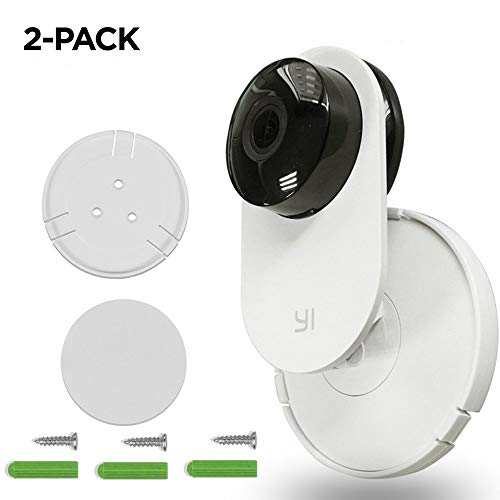 Skyreat Yi Home Camera Wall Mount Holder,360 Degree Swivel Camera Wall Holder for Yi Home Security Camera