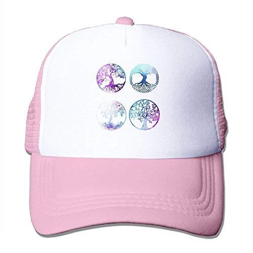 Preisvergleich Produktbild Voxpkrs Bonsai-Baum-Ikonen-Mann-Fernlastfahrer-Hüte Justierbare Fernlastfahrer-Hüte Im Freienmaschen-Hut,  empfohlen für Alter 13+ schönes 12628