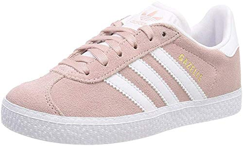 adidas Unisex-Kinder Gazelle J Fitnessschuhe, Pink (Roshel/Ftwbla/Dormet 000), 36 EU