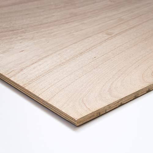 川島材木店 ラワンベニヤ 1820x910mm厚み15mm T1 耐水合板 F4