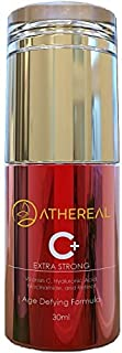Athereal Vitamin C-Plus Serum | Extra Strong Anti-Aging Anti-Wrinkle Formula that Lifts, Hydrates, Lightens Dark Spots & Acne Scars – A Powerful Blend Retinol, Niacinamide, Hyaluronic Acid | 30 ml