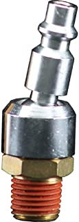 Bostitch BTFP72333 Industrial 1/4-Inch Series Swivel Plug with 1/4-Inch NPT Male Thread