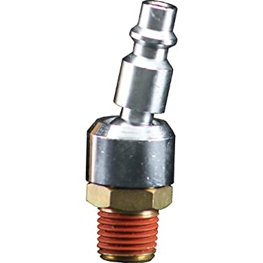 Bostitch BTFP72333 Industrial 1/4-Inch Series Swivel Plug with 1/4-Inch NPT Male Thread