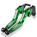 for K-awasaki Z900RS Z900 RS 2018 2019 Motorcycle CNC Adjustable Extendable Brake Lever Clutch Logo Z900RS Handle Ornamental (Color : Color 4)