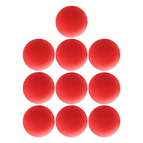 LyGuy 10 Pezzi 4.5Cmfinger Magic Tricks Props Sponge Balls Street Classici Trucchi da Palcoscenico Palline di Spugna Regalo per Bambini