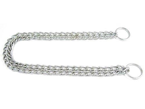 Dogs Stars Zweireihige Halskette für Hunde - Allen Längen und Stärken