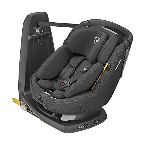 Maxi-Cosi AxissFix Plus, konvertierbarer Kindersitz, drehbarer Kindersitz, geeignet ab der Geburt, 0 Monate - 4 Jahre, 45 - 105 cm, Authentic Black (schwarz)