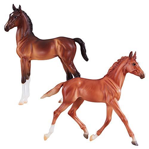 Breyer 90.9198 Vollblut & Hackney Pferd Fohlen gemischt