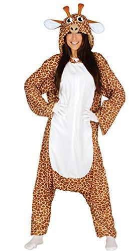 Guirca- Disfraz adulta pijama jirafa, Talla 42-44 (84526.0)