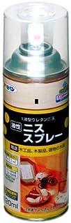 アサヒペン ニススプレー 420ML ゴールデンオーク 【まとめ買い3缶セット】