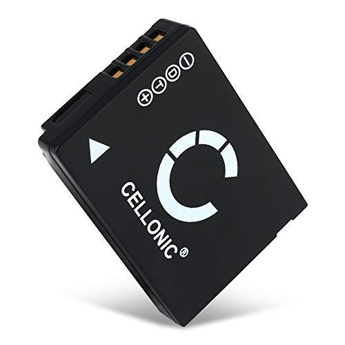 CELLONIC® Batteria Compatibile con Panasonic Lumix DMC-TZ10 -TZ6 -TZ7 -TZ8 -TZ18 -TZ20 -TZ25 -TZ30 -TZ31 -TZ35 DmC-ZX1 DmC-ZS7 -ZS3 -ZS8 -ZS10 -ZS20, DMW-BCG10 -BCG10E -BCG10pp 890mAh accu Ricambio