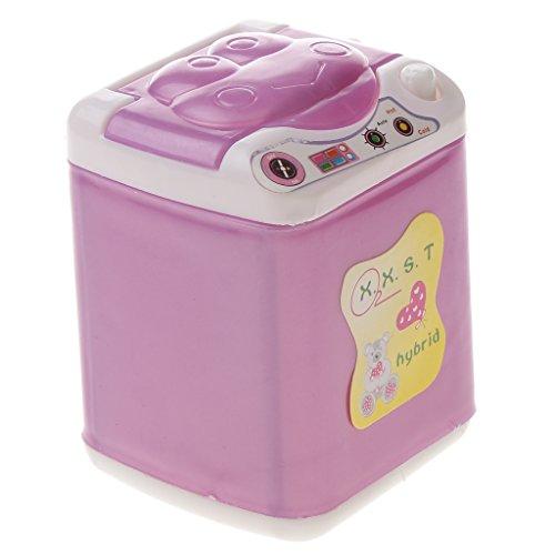 Gazechimp Juguetes para Dollhouse Lavadora de Ropa Electrodoméstico para Muñecas Barbie