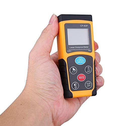 Afstandsmeter, hoge nauwkeurigheid Handheld digitale IR-afstandsmeter Compacte meetafstandsmeter, hoge nauwkeurigheid, compact en handig, batterijstatusindicatie(40m)