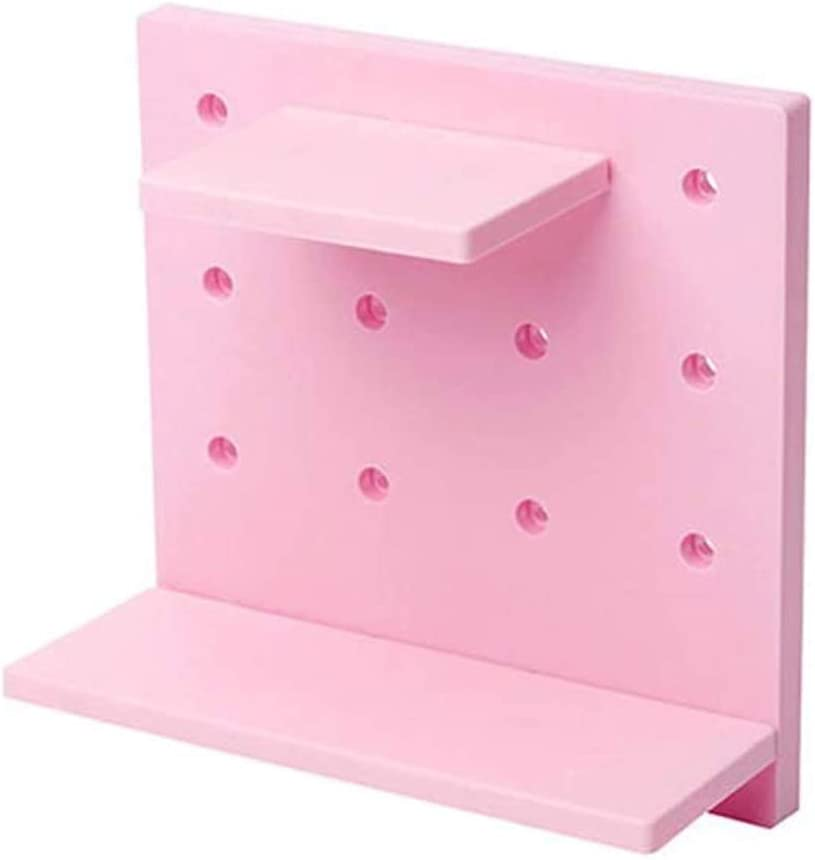 UXZDX New sales CUJUX Over item handling ☆ Wall Mounted Storage with Hand Removable Rack Holes