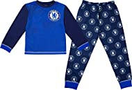 OFFICIAL CHELSEA F.C MERCHANDISE - These Chelsea FC pyjamas for boys are official licensed merchandise. Brand new with authenticity tags. These Chelsea pjs for boys and girls consist of a long sleeve top and bottoms with an elasticated waistband for ...