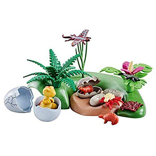 PLAYMOBIL Dinosaurios Bebes con nidos
