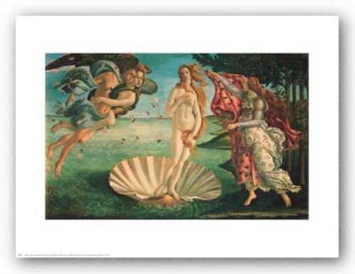 The Birth of Venus Poster Print by Sandro Botticelli (30 x 24)