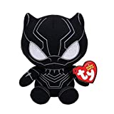 TY 41197 Reg Black Panther-Marvel-Beanie, Multicolored