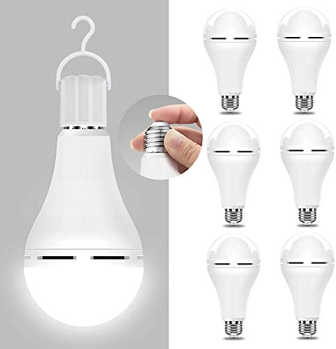 Emergency Rechargeable Light Bulb Stay Lights Up When Power Failure 1200mAh15W 80W Equivalent product image