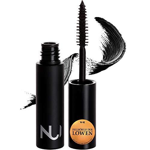 NUI Cosmetics Natural Mascara PANGO - Naturkosmetik vegan natürlich glutenfrei - tiefschwarze Wimperntusche für Volumen und lange Wimpern ohne zu klumpen