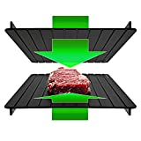 BROWNMOON Defrosting Tray - Rapidly Thaw Frozen Meat from Upwards & Downwards (Pack of 2)