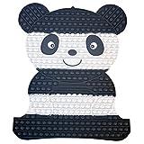 NUFR 20X16 Inches Jumbo Big Giant Panda Shape Pop Bubble Fidget Toy, Animal...