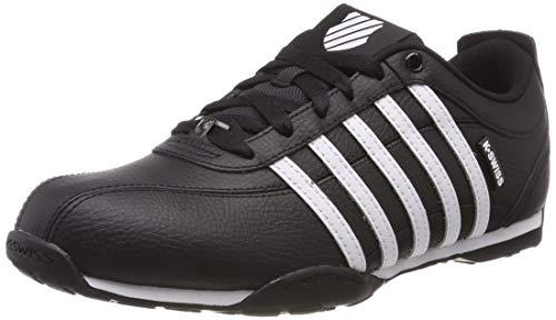 K-Swiss Herren Arvee 1.5 Sneaker, Schwarz Blac White Gunmetal 040, 43 EU