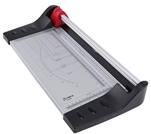 Olympia TR 3210 Rollenschneider A4 bis zu 10 Blatt Solide Metallplatte als Papierauflage