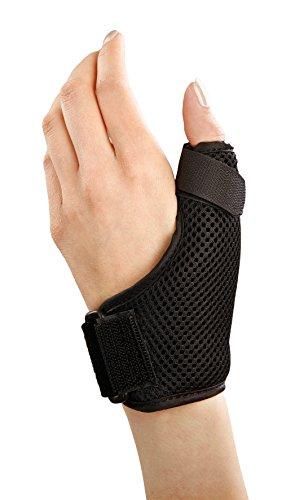 Stützbandage für Handgelenk und Daumen, bei Arthritis, Rhizarthrose, Sehnenentzündung und Daumenverletzungen, wie Verstauchungen, in 3 verschiedenen Größen erhältlich