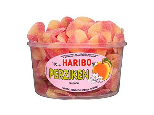 Haribo Pfirsiche 829401 Fruchtgummi Inh. 150 Stück