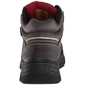 Skechers for Work Men's Burgin-Sosder Industrial Boot,brown embossed leather,12 M US