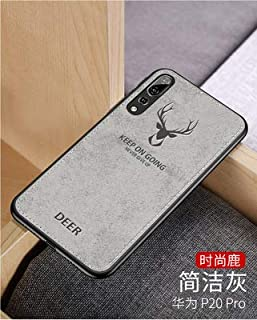 Cqqz Oppor17pro Mobile Phone Case A59 Car Line Cloth Pattern R11splus Elk Tpu Soft Edge F7 Creative Protection Case K1(Silver Grey, Oppo Find X)