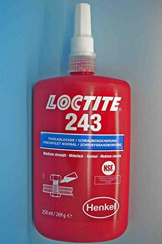 Loctite 243 x 250 ml de blocage des vis résistance moyenne eU style original