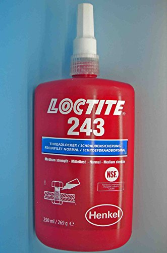 Preisvergleich Produktbild Loctite 243 x 250ml Schraubensicherung - mittelfest Original EU Stil