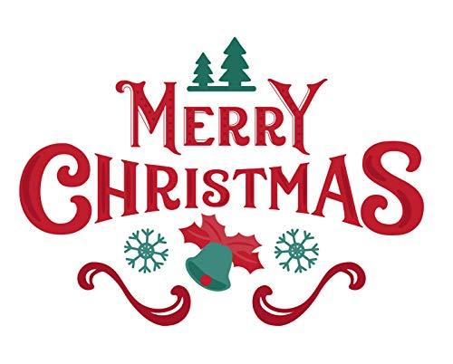 Happy Christmas 27/ Cross Stitch Pattern: Counted cross stitch Patterns/ Christmas Cross Stitch Pattern/ Cross Stitch Designs/ Printable Chart PDF