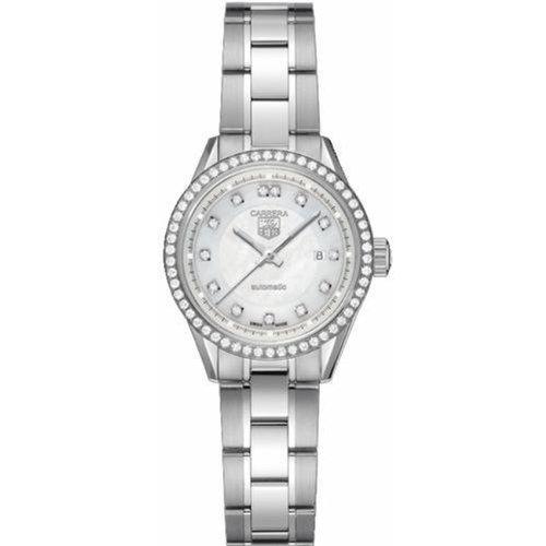 TAG Heuer Damen-Armbanduhr Diamond Carrera Edelstahl WV1413.BA0793
