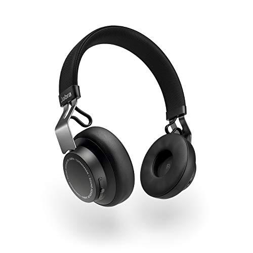 Jabra Move Style Edition Cuffie On-Ear, Cuffie Stereo con Connessione a Tablet, Computer e Telefono, Chiamate e Musica Wireless, Nere Titanio