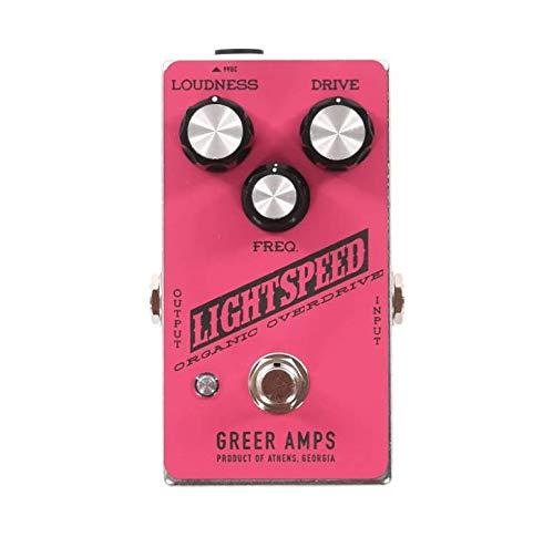 Greer Lightspeed Organic Overdrive Hot Pink and Black
