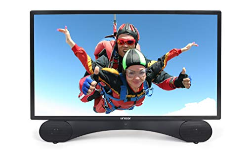 Linsar 32LED320 Téléviseur LED HD 32 Pouces, DVB-T/T2/C, HDMIx 3, USBx 1, VGA, CI +, Noir Classe énergétique A