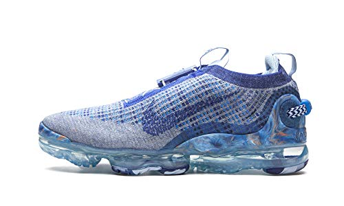 Nike AIR Vapormax 2020 FK, Chaussure de Course Femme, Stone Blue Deep Royal Blue Glacier Blue, 40.5 EU