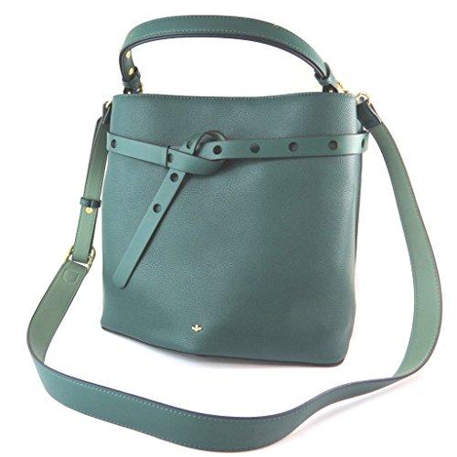 Nica [N9098 - Designer-tasche grün (2 fächer)- 28.5x26x17 cm.