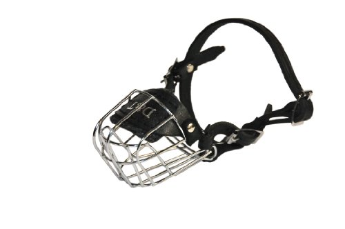 Dean and Tyler Wire Basket Muzzle, Size No. 1 - Miniature Pinscher