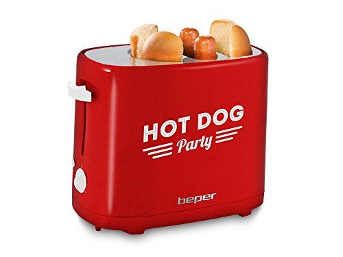 Beper Máquina para Perritos Calientes - Hot Dogs 90.488 750W