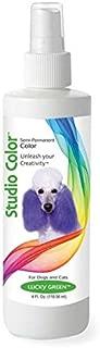 Davis Color-Hair DM3111 04 43 Pet Studio Dye, 4 oz, Lucky Green