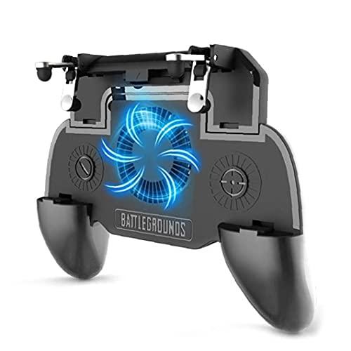 para Regulador De Gamepad Ventilador Suplementario Gatillo Shooter para Teléfono Joystick Titular del Ventilador del Refrigerador con 2000 Mah De Potencia