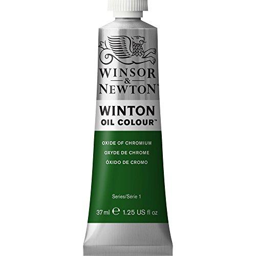 Winsor & Newton 1414459 Winton Oil Color Paint, 37-ml Tube, Oxide Of Chromium